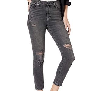 Lucky Brand Bridgette Ankle Button Fly Jeans